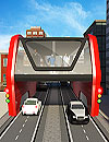 Elevated Bus Simulator Futuristic City Bus Games