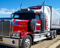 Big Red Rig Truck