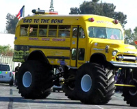 Bad To The Bone School Bus