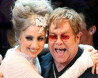 Lady Gaga With Elton John