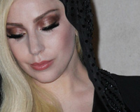 Beautiful Blonde Lady Gaga