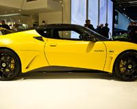 Lotus Evora GTE Yellow