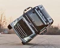 Volvo Truck Stunt New