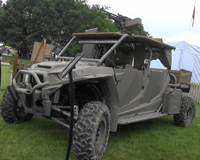 Military Vehicle From Goodwood Festival