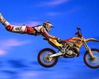 Moto Acrobatic Figure