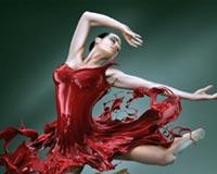 Dance Of The Red Skirt Girl