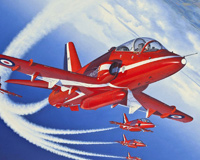 Trainer Plane Red Arrows
