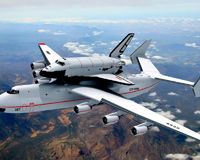 Mriya Blizzard Plane Space