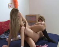 Messages sexy blonde lesbians fingering each other